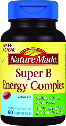 (2 Pack) - Nature Made Super B Energy Complex, 60 Softgels each. (Super B Complex Energy compare prices)
