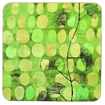 rockflowerpaper Ginseng Drink Coasters, Set of 4