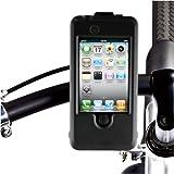 MSY 自転車用マウンタ iCrew 4 for iPhone 3G/3GS/4 ブラック MS-IC02BK