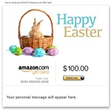 Amazon Gift Card - E-mail - Happy Easter (Bunny Basket)