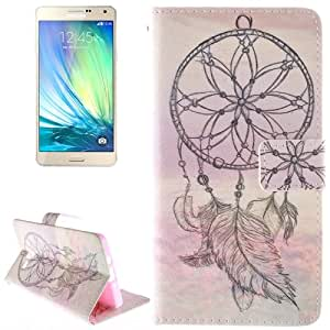 Crazy4Gadget National Style Cap Pattern Leather Case with Holder & Card Slot & Wallet for Samsung Galaxy A7 / A700F