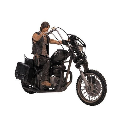 McFarlane Toys The Walking Dead TV Deluxe Box Set (Daryl Dixon with Chopper) by McFarlane Toys