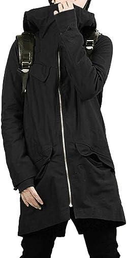 SHEYA モッズコート メンズ コート ロングコート ミリタリー カーキ 黒 緑 秋 冬 ロングコート