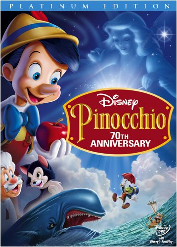 51wED0QPekL Pinocchio: 70th Anniversary Edition DVD & Blu Ray