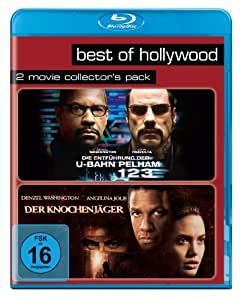 Best of Hollywood 2012 - 2 Movie Collector's Pack 57 (Die Entfhrung der U-Bahn Pelham 123 / Der Knochenjger) [Blu-ray]