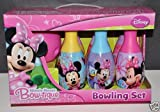 Minnie Mouse Club House Bowling and Skittles Set