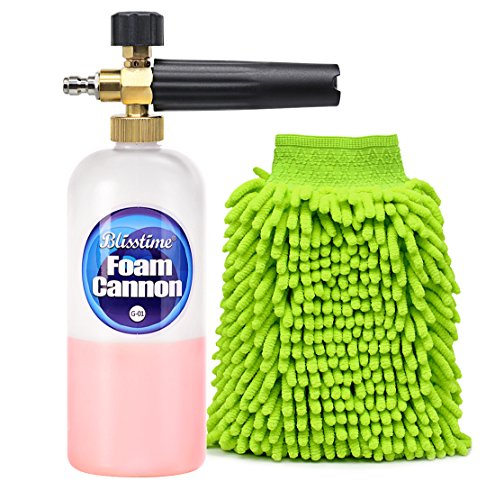 snow-foam-lance-car-wash-pressure-washer-jet-wash-1-4-quick-release-adjustable-foam-cannon-by-blisst