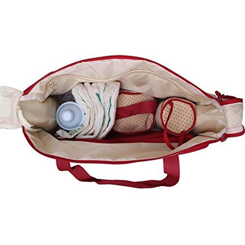 Win8Fong 5 en 1 porté épaule Baby Sacs à couches Durable Mummy Sac à langer