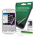 Green Onions Supply AG+ Anti Glare Screen Protector for BlackBerry Q10 Smartphone