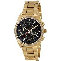 Michael Kors MK6446 38mm Vail Chronograph Watch (Golden/Black)