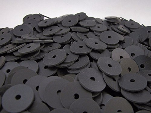 (100) Neoprene Washers | 1 X 3/16 X 1/16 Inch | Rubber Washers | 3/16 ID by Primal23