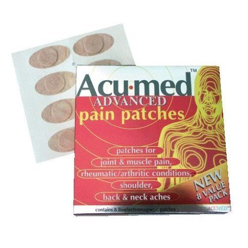 Acumed Pain Relief Patches - 3 packs of 8