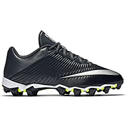 Men\'s Nike Vapor Shark 2 Football Cleat Black/Anthracite/Metallic Silver Size 9 M US
