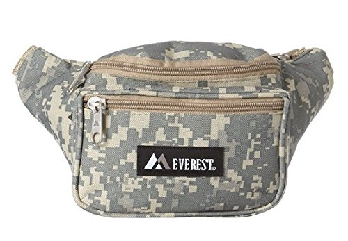 Digital Camo Fanny Pack