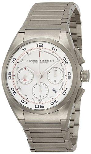 Porsche Design Dashboard Chronograph Automatic Titanium Mens Strap Watch Calendar 6620.11.66.0268