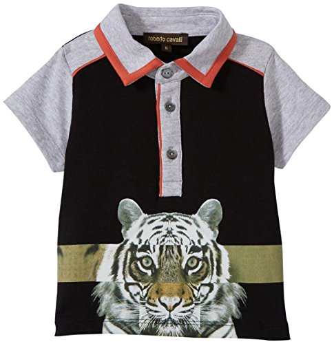 roberto-cavalli-short-sleeve-polo-t-shirt-with-tiger-graphic-black-3-months