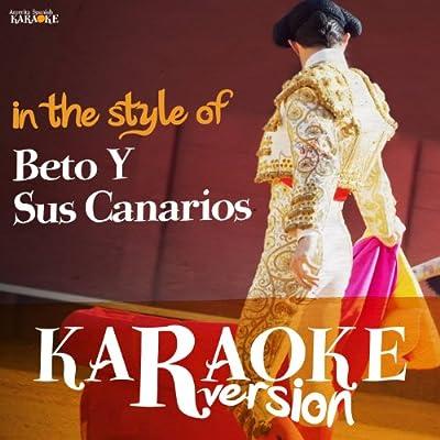 No Puedo Olvidarte (Karaoke Version)