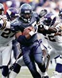 Shaun Alexander Autographed Seattle Seahawks 8x10 Action Photo vs. Vikings at Amazon.com
