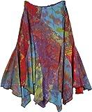 "TLB - Colors of Life Cotton Uneven Hem Skirt - L:24""-36""; W:22""-36"""