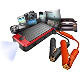 PowerAll 400 Amp All-In-One Link Depot Battery Jump Starter with LED Flash Light