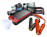 Powerall Deluxe Portable Power Bank, Battery Jump Starter, Bright LED Flashlight with Case