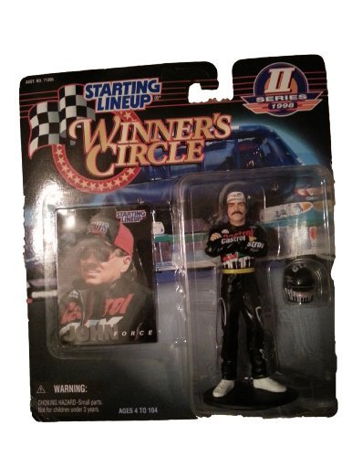 John Force 1998 Series II Starting Lineup Winner's Circle Figurine