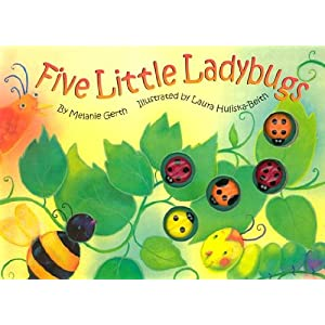 Five Little Ladybugs [5 LITTLE LADYBUGS-MINI]