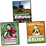 James Wong James Wong 3 Books Collection Pack Set RRP: £53.98 (James Wong's Homegrown Revolution, Grow Your Own Drugs, Grow Your Own Drugs)