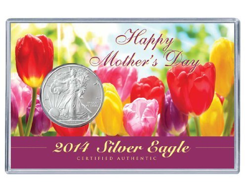 Silver Eagle Mother's Day Acrylic Display by Coins of America