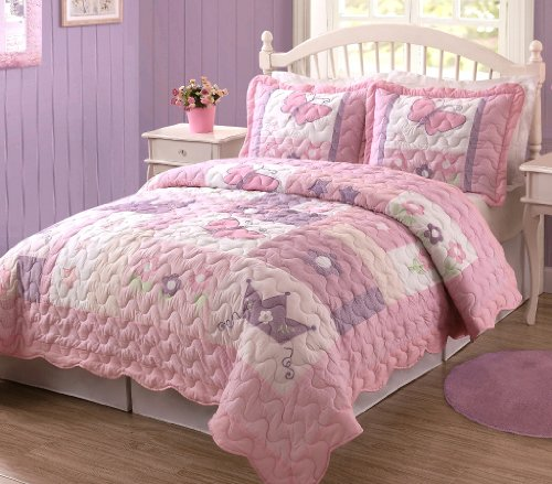Butterfly Twin Bedding 4786 front