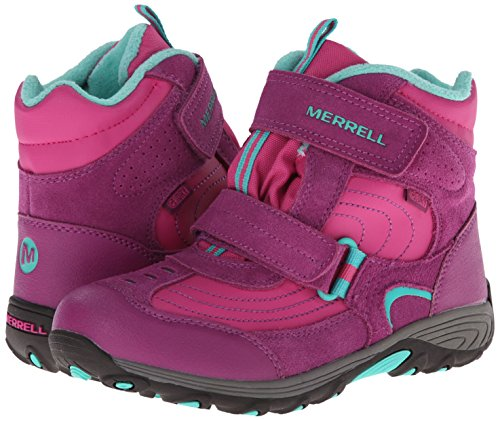 Merrell Moab Polar Mid Strap WTPF Snow Boot (Toddler/Little Kid/Big Kid)