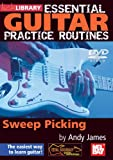 echange, troc Essential Guitar Practice Routines - Sweep Picking [Import anglais]