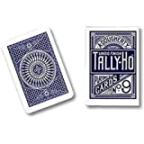 Cards Tally Ho Circle Back (Blue) by US Playing Card Co.