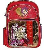 Mattel EVER AFTER HIGH Large Backpack BAG Tote Apple White Raven Queen