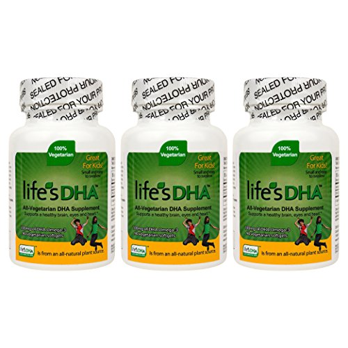 Martek Life's DHA 100mg All-Vegetarian DHA Supplement - 90 Softgels (Pack of 3)