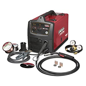 Factory-Reconditioned Lincoln Electric U2688-2 SP-140T MIG Welder, 115/1/60 Input Power, 20A Input Current (Pack of 1) by The Lincoln Electric Company