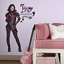 RoomMates RMK2852TB Descendants Mal Peel & Stick Giant Wall Decals, 15