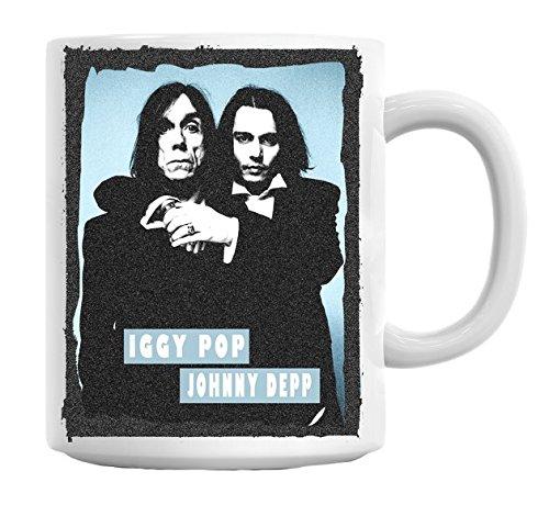 """Iggy Pop-Tazza, motivo: """"Johnny Depp"""