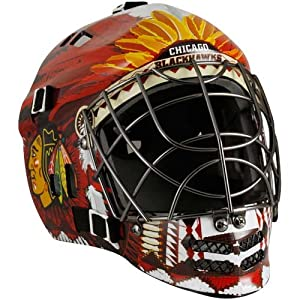 Franklin Sports NHL Chicago Blackhawks SX Comp GFM 100 Goalie Face Mask