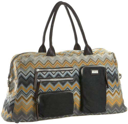 Saltbox Zigzag Weekend Travel Bag