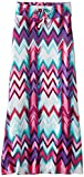 Amy Byer Girls 7-16 Maxi Skirt with Chevron Stripes