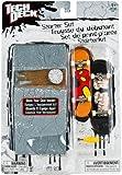Tech Deck 6013059 - Tech Deck Starter Sk8 Set - Fingerboard original - (sortiert)