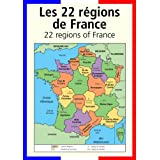 A3 homemade* French poster teaching aid / classroom resources - The 22 regions of France (supplied folded to A4, NOT laminated)by 123 Web Art