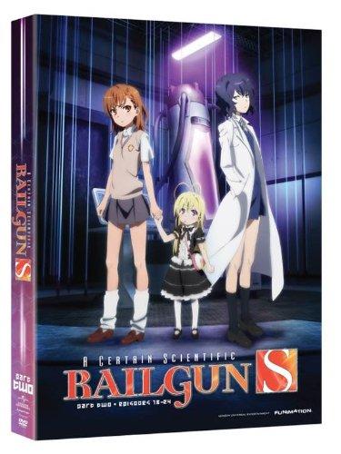 とある科学の超電磁砲S: pert 2 北米版 / Certain Scientific Railgun S: Season 2 Part 2 [DVD][Import] Funimation