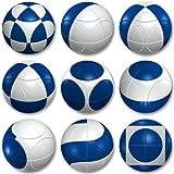 Level 1 Marusenko, Blue and White