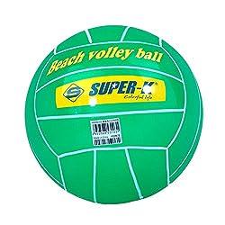 Super-K SAC50098 Beach Ball, Kid's Size 5 (Green)