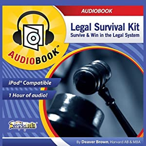 Legal Survival Kit Audiobook