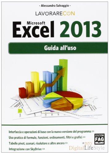 Microsoft Excel 2013 Guida all'uso PDF