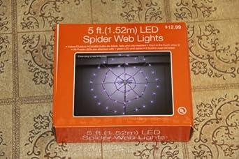 CVS 'LED Spider Web Lights' Set of 50 LED Lights, Purple