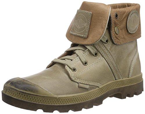 Palladium Men's Pallabrouse Baggy Leather Boot,Khaki,7 M US